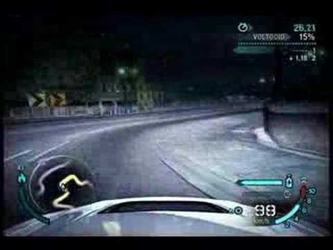 Corvette Z06 and Lancer evo vs audi le mans quattro