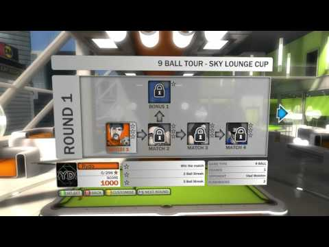 "Pool Nation #2 ""9 Ball Tour"" (HD 1080p 60fps)"