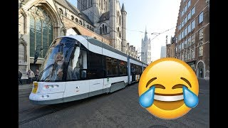 Общественный транспорт в Бельгии