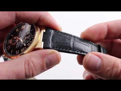 Ulysse Nardin Maxi Marine Chronometer Luxury Watch Review