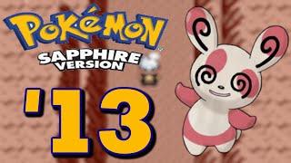 pokemon saphir ♦ lets play germanhd ♦ part 13 auf nach laubwechselfeld