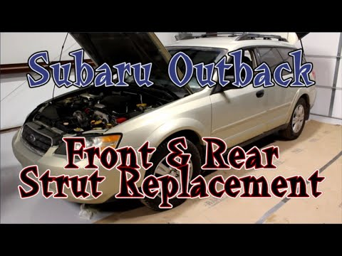 How To Replace Subaru Outback Struts & Shocks (Step-by-Step)