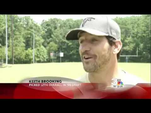 Keith Brooking Kids & Pros Football Clinic - Bluffton SC July 23, 2017