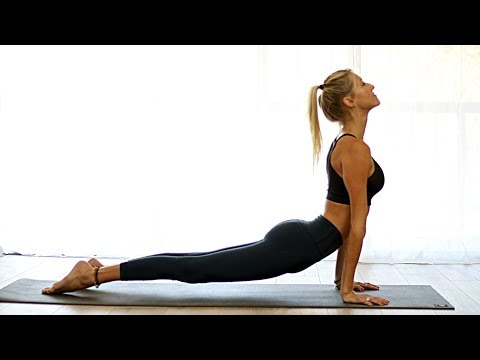 Morning Total Body Yoga Burn Workout - Vinyasa Flow | Yoga Dose