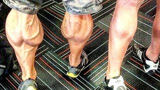 The Best Calves In Bodybuilding - Leg Day Workout