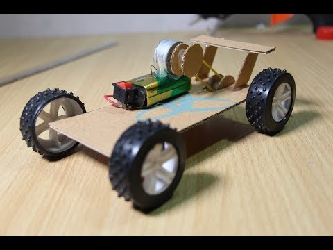 Homemade kids car toys - Recycled