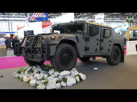 AM General Debuts New Light Tactical Vehicle NXT 360 At Eurosatory 2018 Defense Exhibition Paris Fra