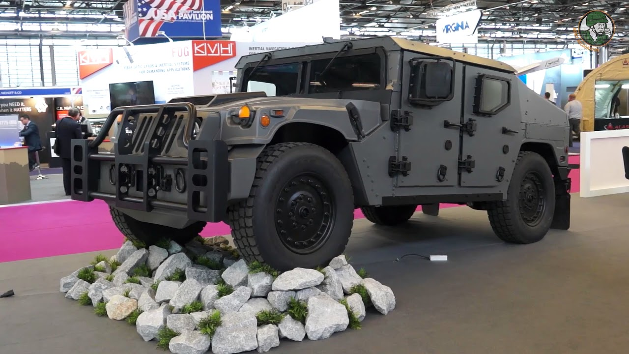 new products 188da 15c5b AM General Debuts New Light Tactical Vehicle NXT 360 at Eurosatory 2018  defense exhibition Paris Fra