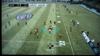 Jonah Lomu Rugby Challenge Playstation 3 Gameplay