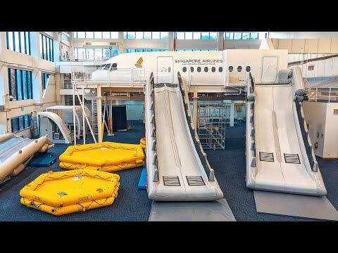 INSIDE Singapore Airlines' training centre