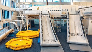 INSIDE Singapore Airlines' training centre