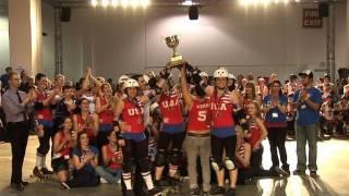 Les USA remportent la première Coupe du monde de roller derby