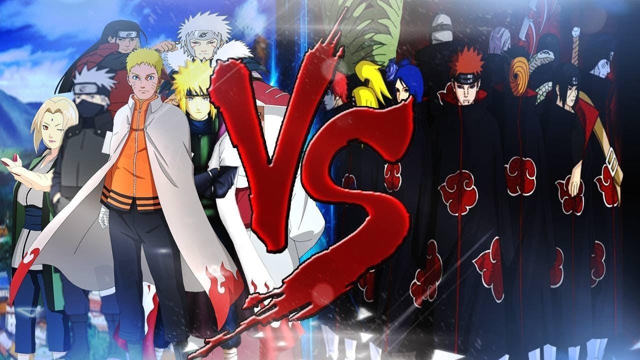 7 Hokage Làng Lá Quyết Chiến Akasuki - Naruto Song Đấu