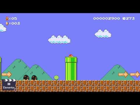 Super Mario Maker 2 - Nivel de Peach - ¿Mundo 1-1 de Super Mario Bros.?