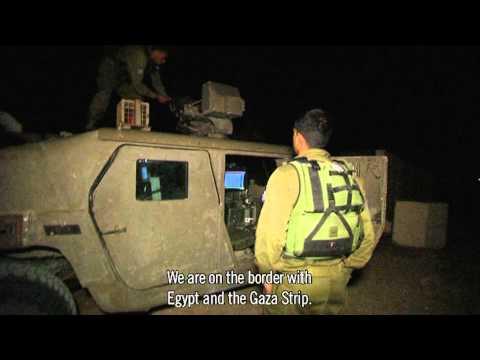 Muslim IDF Soldier Keeps Watch Over Israel's Gaza Border