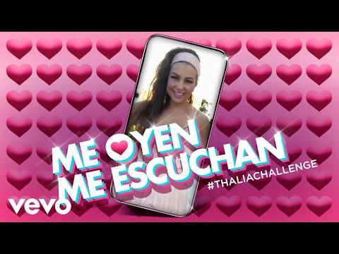 Thalía convierte en canción su reciente vídeo viral 'Me oyen, me escuchan'