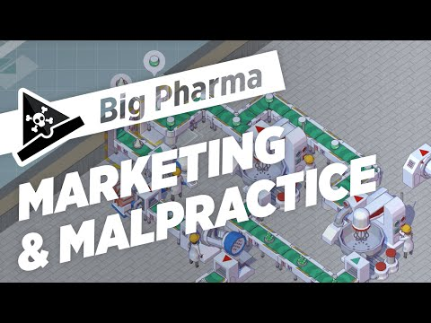 MARKETING & MALPRACTICE  - ep 1 - Let's Play Big Pharma Marketing & Malpractice Gameplay