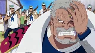 One Piece - Dadan angry on Ace death.. Beats Garp !!!