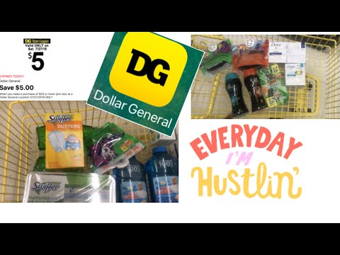 Dollar General $5/$25 For Saturday July 27th Deals End Today