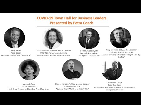 COVID-19 town hall for businesses