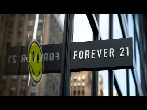 Maddox - Forever 21 Files For Bankruptcy In U.S.