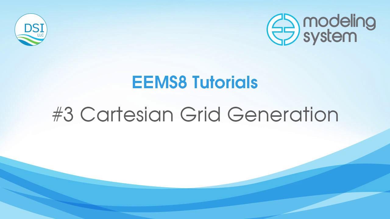 #3 Cartesian Grid Generation EFDC Explorer