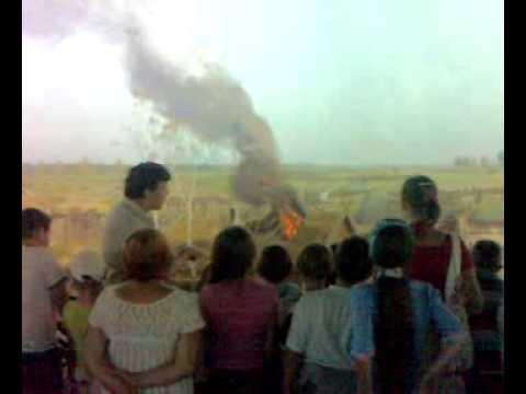 Арина в Бородинской Панораме