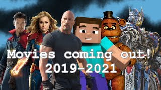 Movies coming out in 2019 to 2021 (warning headphone users)