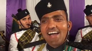 Garhwali folk instrumental music by Garhwal Rifle