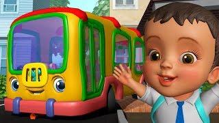 பாம் பாம் பாம் பாம் பேருந்து - School Bus Song | Tamil Rhymes for Children | Infobells