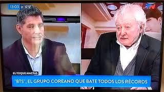BTS TN Segmento Toque Mactas Argentina