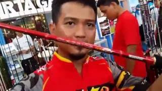 IFTE - INDONESIA FISHING TACKLE EXHIBITION 2016 Mall Gandaria City - By Panda Fishing Vlog #2