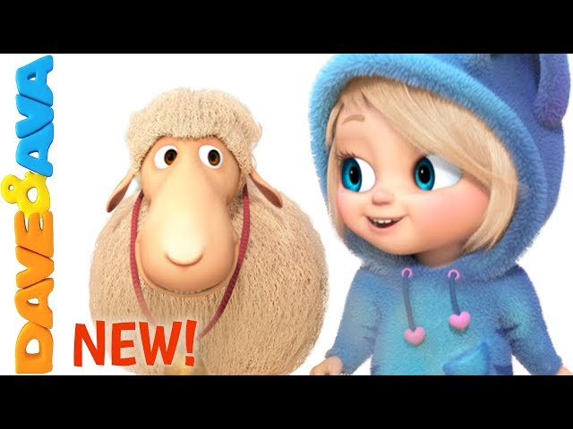🌱Little Bo Peep | Nursery Rhymes and Kids Songs | Baby Songs from Dave and Ava 🌱