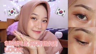 SOFT SIMPLE KOREAN MAKEUP LOOK | CARA MUDAH MAKEUP KOREA