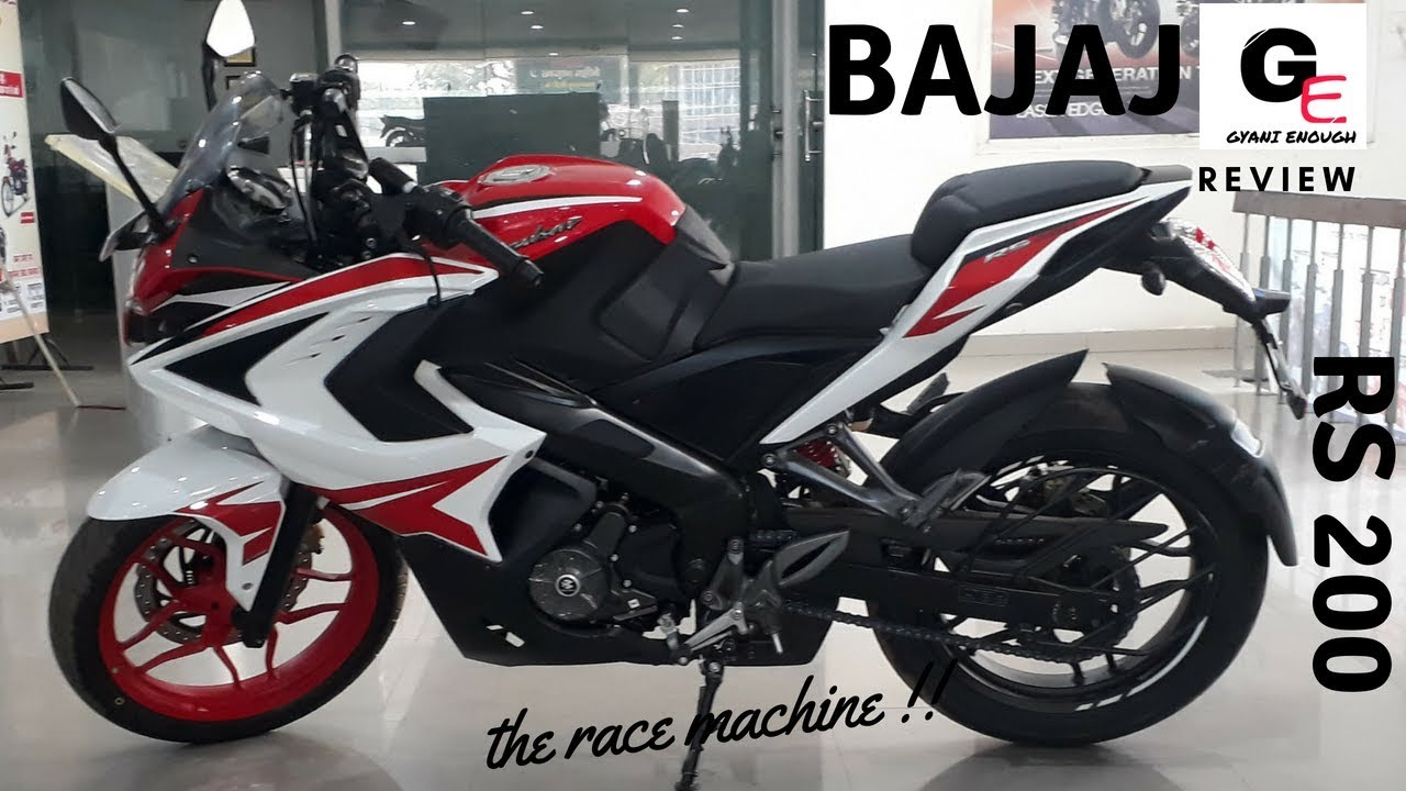 2018 Bajaj Pulsar RS 200 Racing Red | detailed review | features | exhaust  sound | mileage !!!