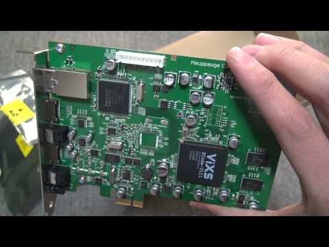 Hauppauge フルHD対応キャプチャカード Colossus01285 開封動画