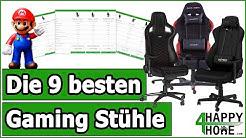 Gaming Stuhl kaufen ➡️ Die 9 besten Gaming Stühle im Vergleich [3 Preisklassen]
