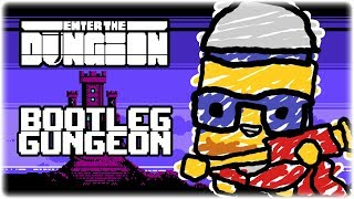 Bootleg Gungeon | Let's Play: Devolver Bootleg (Enter the Gun Dungeon) | PC Gameplay