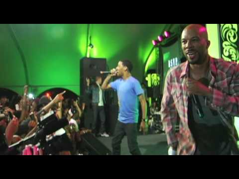 Kid Cudi - Make Her Say (LIVE) w/ Common