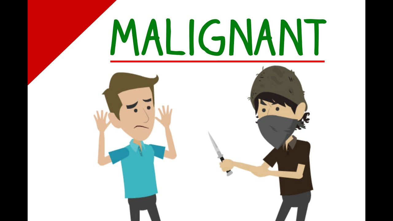 Learn English Words - MALIGNANT Meaning (Vocabulary Video)