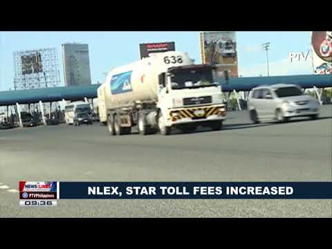 NLEx, STAR toll fees increased