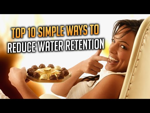 TOP 10 Simple Ways How To Reduce Water Retention