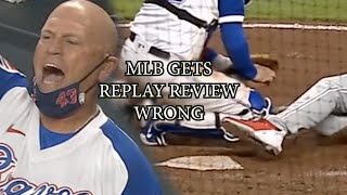 MLB gets replay review wrong in Phillies vs Braves game, a breakdown