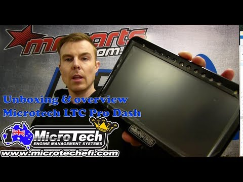 Microtech EFI LTC Pro Dash - Unboxing And Overview