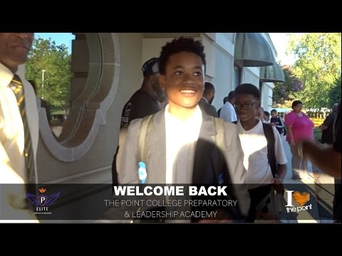 Welcome Back: First Day of School at The Point