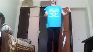 """Танцую танец под песню ,,Гюрза"""". Упала прямо на видео!!!😭"""