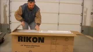 Rikon 14 Inch 10-325 Band Saw, Installation And Setup