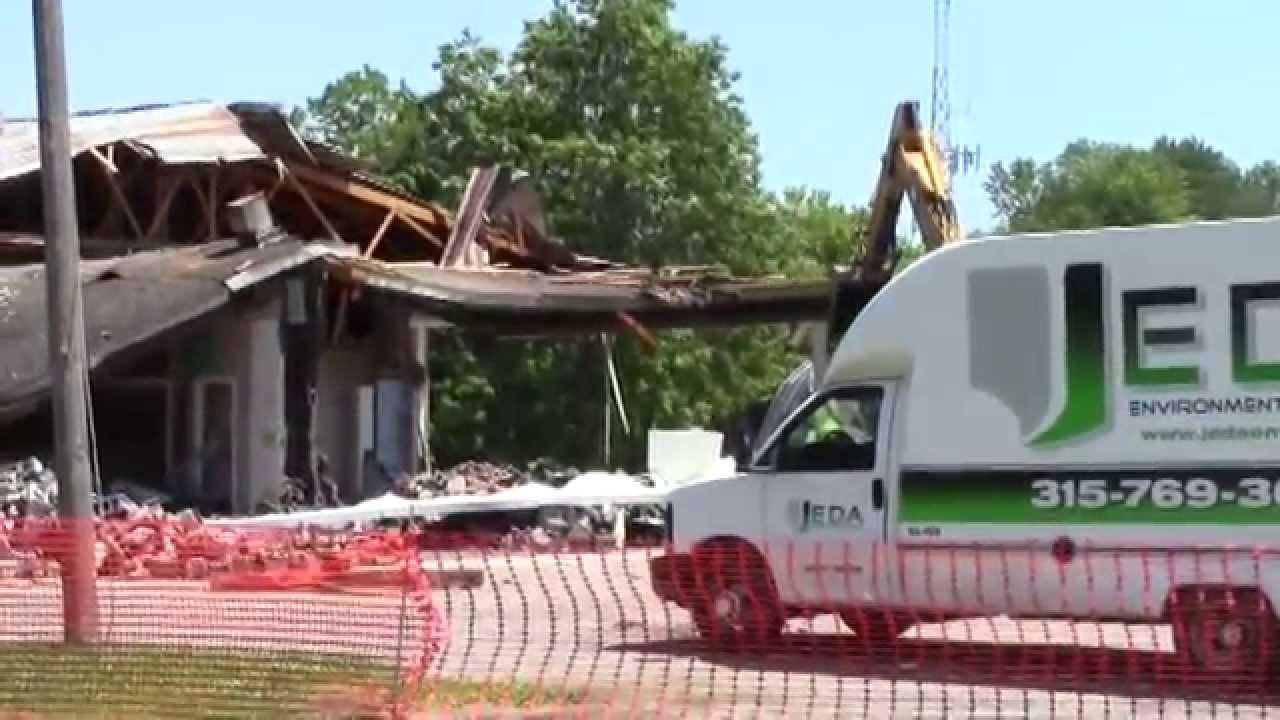 SMA Demolition June-October 2015