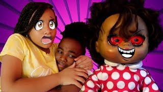 """EVIL BABY ALIVE DOLL (KIDS SKIT #13) """"THEY CAME BACK!"""""""