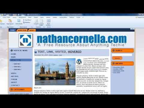 Как убрать powered by wordpress and wordpress theme created with artisteer